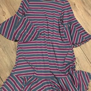 LuLaRoe Maurine Bell Sleeve Dress
